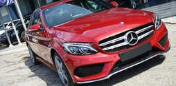 Mercedes Benz C300 AMG hỗ trợ vay 90% xe giao ngay.