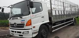 Bán xe tải Hino 500 series FC 6,4 tấn thùng mui bạt, thùng kín, thùng.