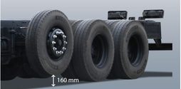 HD360 tải trọng 21 tấn. HD210 tải trọng 14 tấn, HD320 tải trọng .