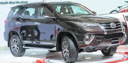 Toyota Fortuner 2017 nhập khẩu nguyên chiếc tại Toyota Vũng Tàu.