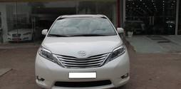 Bán Toyota Sienna 3.5 limited màu trắng nội thất nâu sản xuất và .