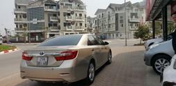 Xe Toyota Camry 2.5Q sx 2013 màu vàng cát.