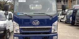 Xe tải Faw 6,95 tấn,cabin Isuzu hiện đại,thùng dài 5,1M.Hỗ trợ va.