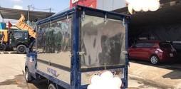 Xe tải nhỏ 650kg 770kg 810kg dongben đóng thùng cánh dơi, xe mới 2017.