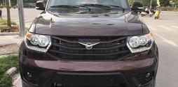 Uaz Patriot Pickup 2017, màu nâu, nhập khẩu nguyên chiếc.