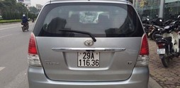 Toyota Innova G 2011 Màu Bạc giá tốt..