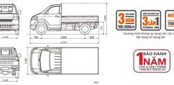 Giá xe tải Suzuki Carry Pro mới nhất tại hà nội.