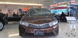 Toyota Corolla Altis 1.8 AT 2017 Giảm mạnh Cùng nhiêu quà tặng hấp d.