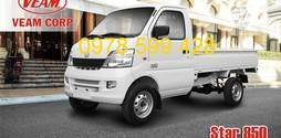 Xe tải Veam Star 820Kg,tải trọng nhẹ dẽ dàng đi trong phố.