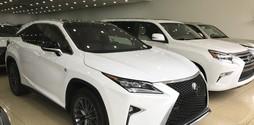 Bán LexusRx350 Fspor sản xuấtt 2017 nhập mỹ,mới 100%,xe giao ngay..