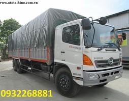 Xe tải Hino FL, oto Hino FL 14 tấn, 14000kg, thùng kín, mui phủ dài 9m2, 9200 mm, giá tốt nhất, FL8JTSL, FL8JTSA, FL8JTSG, cầu lôi