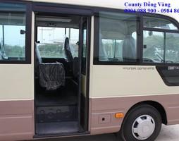 Đại lý xe Hyundai County Đồng Vàng, Xe Chính hãng, Giá chính hãng U.