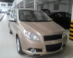 Xe AVEO màu vàng gía sốc ,bán trả góp nhanh tại Chevrolet Hà Nội.