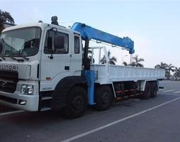 Bán xe cẩu tự hành 10 tấn Dongyang giáp xe Dongfeng 4 chân.