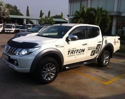 Bán xe Mitsubishi Triton 4x2 AT Tặng phiếu bảo dưỡng miễn phí 2 nă.