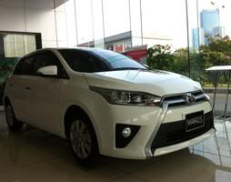 Toyota Mỹ Đình bán xe Yaris G màu trắng nhập khẩu nguyên chiếc Th.