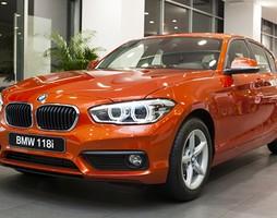 BMW 118i 2016, 2017 lần đầu tiên xuất hiện tại VN, nhiều màu, gi.