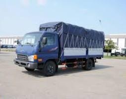 Cần bán xe tải Hyundai nâng tải 6,5 tấn. Xe tải Hyundai HD650 thùng.