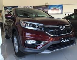 Honda CRV 2.0 AT Màu Đỏ Mới nhất.