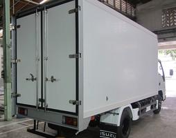 Xe tải isuzu 2t2 vào thành phố thùng kín,thùng bạt,nâng tải,giá r.