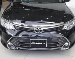 Xe toyota camry 2.5q phiên bản mới 100%,màu đen, giá khuyến mãi ưu .