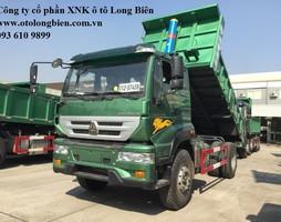 Bán xe ben 8 tấn Howo, Dongfeng tại Long Biên, Hà Nội 2017.