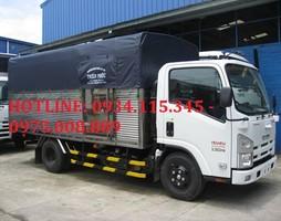 Bán trả góp xe tải Isuzu 1.4 tấn NQR55F Isuzu 1 tấn 1 NLR55E giá cạ.