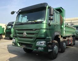 Bán xe ben 4 chân Howo động cơ 371 tải trọng 16,8 17 tấn 2016, 2017.