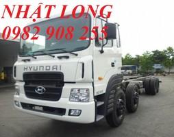 Xe 4 chân Hyundai HD320. Hyundai 4 chân HD320 18 tấn. Hyundai 4 chân nhập.