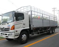 Chỉ bán xe tải HINO 15 tấn / 16 tấn / 14T5 / 15T4 Thùng bạt, Thùng .