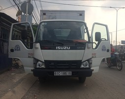 Bán xe tải isuzu 2t2, 2.2 tấn thùng dài 4m36 chạy vào thành phố đ.