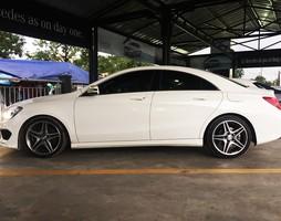 Bán mercedes benz cla250 4matics, xe cá nhân, tình trạng xe hoàn hảo, b.