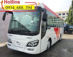 Giá Thaco TB82S, Xe Khách Thaco 34 chỗ, Xe Khách TB82S Hỗ Trợ Giá Tố.