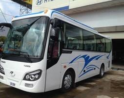 Xe khách 29 chỗ, giá xe k29,k34,k45 đời mới.
