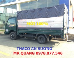Xe tải Thaco Kia K165 mui bạt tải trọng 2 tấn 4 giao ngay, Thông tin .