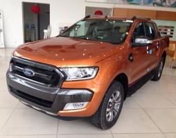 Ford Ranger Wildtrak 3.2 mới nhập khẩu nguyên chiếc, màu cam, trắng,.