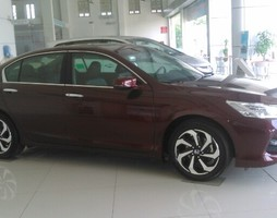Honda Accord Thái Lan Mới Đỏ Đô Xe Giao Ngay KM 40tr.