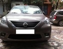 Bán xe cũ Nissan Sunny MT 2013, màu nâu..