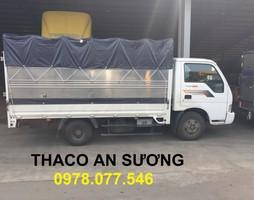 Bán Xe tải kia k165s 2,4 tấn thùng mui bạt tải kín tải trọng 2400.
