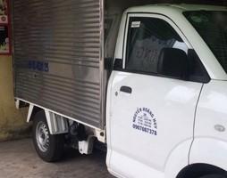 Cần bán gấp con xe tải cũ Suzuki đời 2015 thùng mui kín giá thươ.