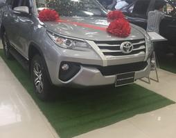 Toyota Fortuner 2.4G Máy Dầu số sàn 2017 hoàn toàn mới giá hấp dẫ.