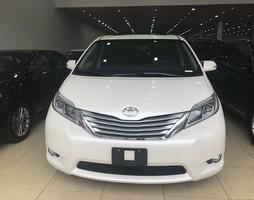 Bán Toyota Sienna 3.5 Limited 2017,màu trắng,nội thất da bò,xe giao nga.