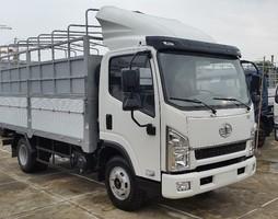 Xe faw 7.25t thùng 6m2 rộng 2m2, cabin mẫu isuzu mới nhất, giá cả t.