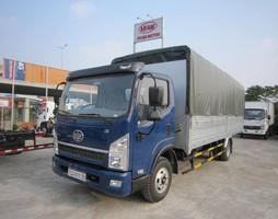 Xe Faw 6.95 tấn thùng 5m1 rộng 2m05, động cơ mạnh mẽ tích kiệm n.