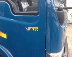 Bán xe tải vt750 , thùng dài 6,1m . động cơ hyundai , vay vốn 70%..