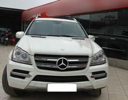 Bán Mercedes GL350 model 2011 màu trắng, nhập Đức xe đẹp chính ch.