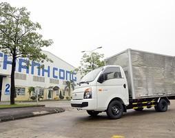 H100 CKD 1 tấn thùng lửng, thùng bạt, thùng kín Hyundai H100 Đại l.