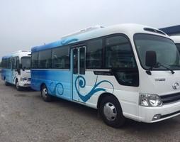 Giá bán xe County 29 chỗ thân dài 7m3, xe khách 29 chỗ thân dài Trư.