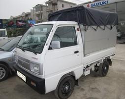 Xe tải suzuki 500kg,750kg,5 tạ,7 tạ mới 100%,hỗ trợ ngân hàng,đă.