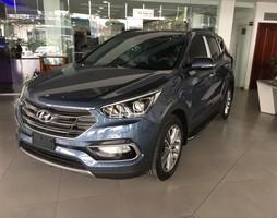 Hyundai santafe crdi 2.2at đặc biệt 2017 trả trước 350 lấy xe ngay 0.